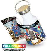 Traveller Drining bottlewhite with Sublimation print