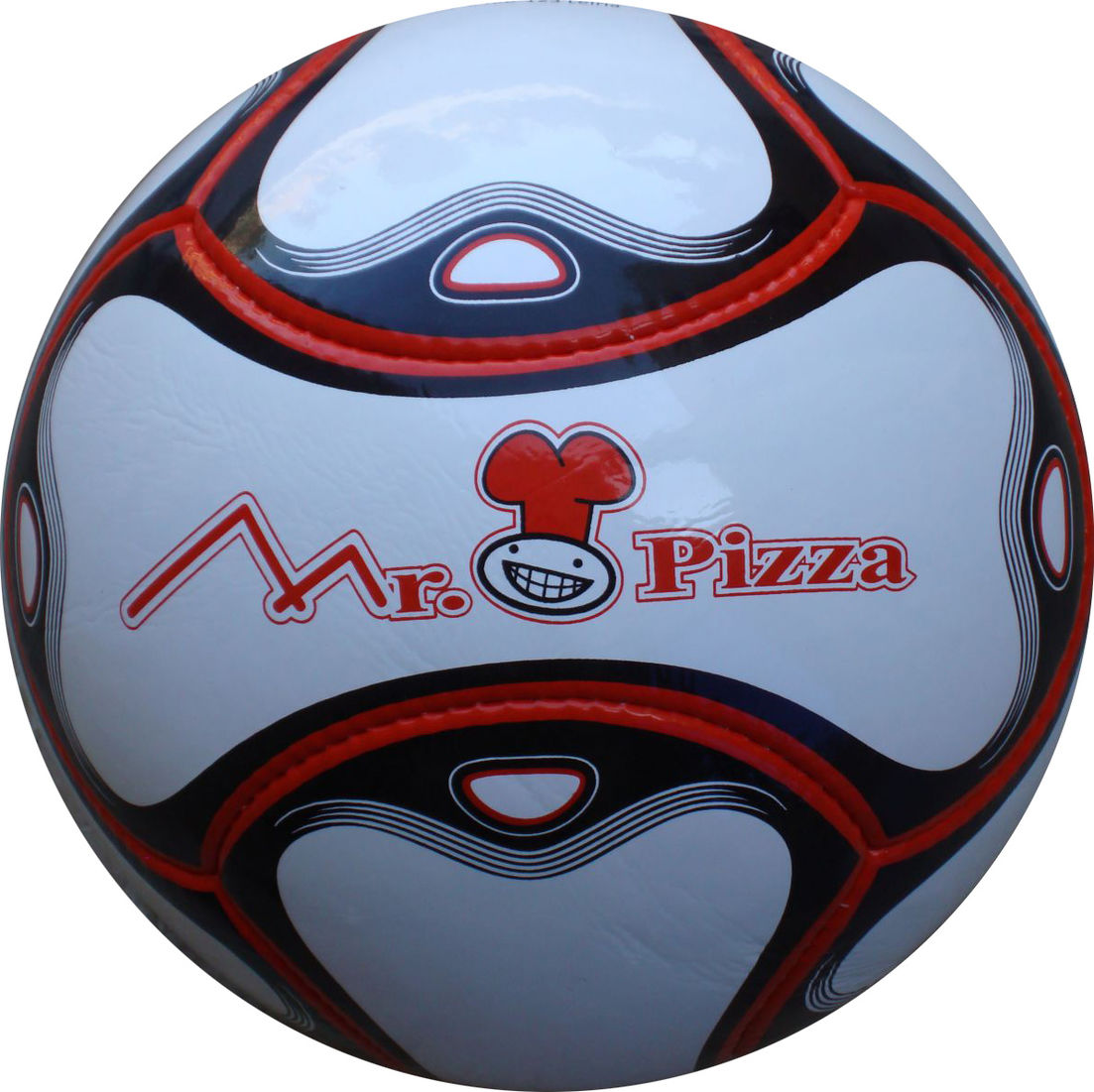 6 Panel Fußball Mr. Pizza