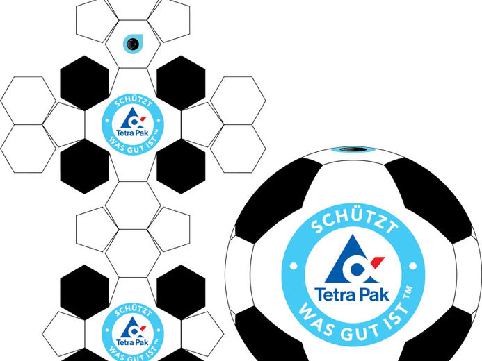 soccer ball cookies template