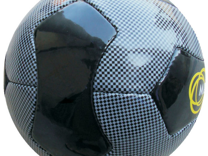 Carbon optic Soccerball - Soccerball Templates - Custom made promotional balls