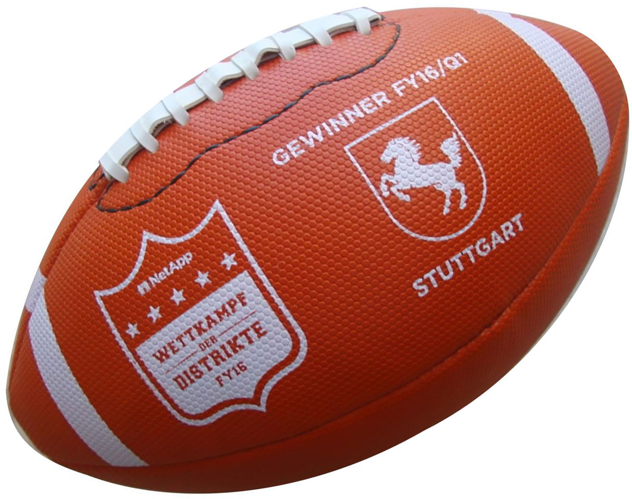 Customized American Football printed conveniently delivered quickly
