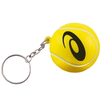 Tennis stress ball key ring